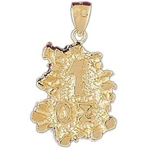 CleverEve's 14k Gold Charm Nuggets 18.1 - Gram(s)