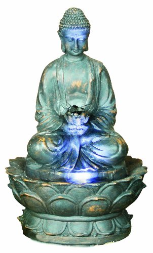 Premier BA111524 Buddha Lit Water Feature includes 1 LED
