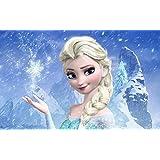 Posterhouzz Movie Frozen Elsa HD Wallpaper Background Fine Art Paper Print Poster