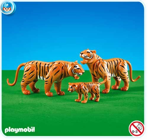 Imagen principal de PLAYMOBIL 7997 - 3 Tigres