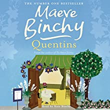 Quentins Audiobook by Maeve Binchy Narrated by Kate Binchy