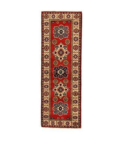 L'Eden del Tappeto Teppich Uzebekistan Super rot/beige 188t x t63 cm