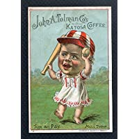 1889 Tobin Lithograph Baby Talk Mull Tobin VG-EX/EX Back Damage 277772 Kit Young Cards