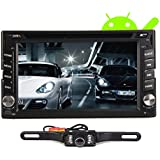 Dual Core 1.6GHZ Two Din 6.2 Inch Android 4.2 Universal Car DVD Player With Wifi 3G Host GPS BT IPOD Mirror Link...