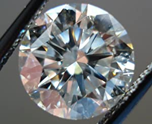 Certified Round Diamond 1.05CT Color Grade H Clarity SI2 GIA Measurements 6.39 - 6.36 x 4.07mm