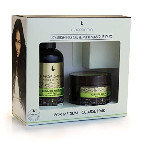 Macadamia Nourishing Moisture Oil Treatment with Mini Masque