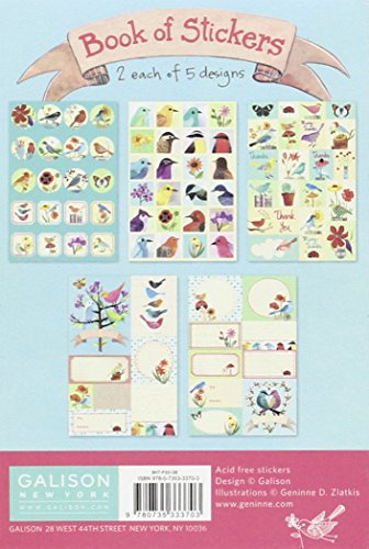Book of Stickers: Avian Friends