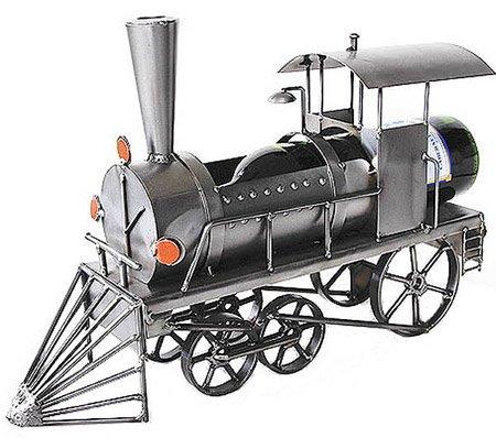 Locomotive or Train Engine Wine Bottle Caddy - 6191-LI