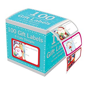 Tallon Christmas Collection Holographic Adhesive Label (Pack of 100)