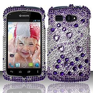 , Hard Case Snap On Bling Cover For Kyocera Hydro C5170: Cell Phones