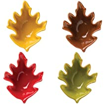 Boston Warehouse Into Autumn Dipping Bowl Set of 4