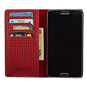 DSR PU Leather Flip Case Cover For LG E445