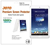 JOTO Premium Screen Protector Film Anti Glare, Anti Fingerprint (Matte Finish) for ASUS MeMO Pad 8 Tablet (ME180A) with Lifetime Replacement Warranty (3 Pack) Color: Anti-glare Size: for MeMO Pad 8 (ME180A)