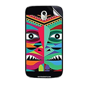 Skin4Gadgets Tribal Face Phone Skin STICKER for LAVA IRIS 402 PLUS