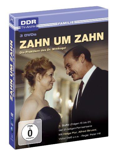 Zahn um Zahn - 3. Staffel - DDR TV-Archiv ( 3 DVDs )