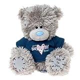 Me to You, Tatty Teddy, Grey Teddy Bear Wearing A 'Best Boyfriend' T-shirt, Sits 6