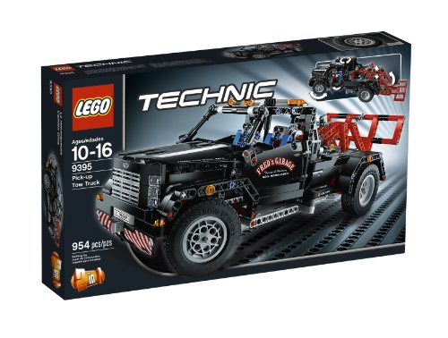 LEGO Technic Pick-Up Tow Truck 9395 (Lego Knobs compare prices)