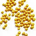 50g Knusper Perlen gold- Kuchen Deko - Essbare Perlen von Madavanilla - Gewürze Shop
