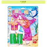 Generic Cute Dolphin Gun Soap Bubbles Machine For Kids Plastic Blowing Bubbles Toy Children Liquid Soap Bubbles...