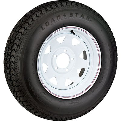 - High Speed Radial Trailer Tire Assembly, Spoked, 