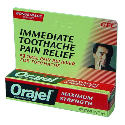 Gel Orajel Adultes Max Force (Pack de 6)