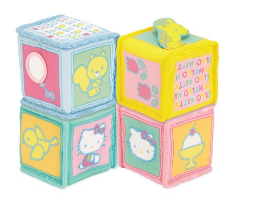 Hello Kitty Baby Soft Blocks (Discontinued by Manufacturer)