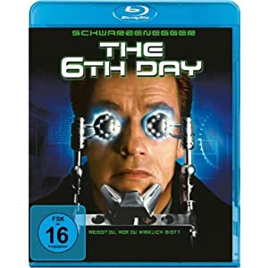 The 6th Day [Blu-ray] [Import allemand]