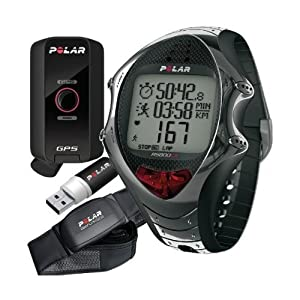 Polar RS800CX N GPS Bike computer with heart monitor black black