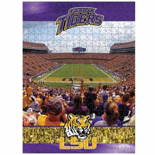 Cheap Fun Racing Reflections Lsu Tigers 18X22 550 Piece Jigsaw Puzzle (B002QTPPLM)