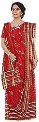 SHRI BALAJI SILK & COTTON SAREE EMPORIUM Women's Cotton Silk Saree (1(10))