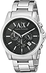 Armani Exchange Unisex AX2084 Stainless Steel Watch