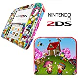 ANIMAL CROSSING Vinyl Skin Sticker For Nintendo 2DS Console Vinyl Skin Cover In A Retail Pack. Ready For Fast 1st Class UK Post.