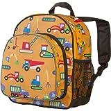 Wildkin Olive Kids Under Construction Pack 'n Snack Backpack