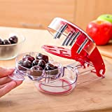 **#1 NEW RELEASE** Cherry Pitter by YouTensils - 6 Cherries at Once