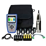 T3 Innovation CB400 Cable Prowler includes 1-20 coax remote, 1-20 network ID only remote set, 1-8 network, telephone testing/ID remote set, and TrakAll tone and probe in T3 large pouch