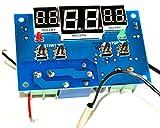 【Wepperin wolks】 サーモ スタット スイッチ センサー モジュール スイッチング 電源 温度 自動 管理 モジュール デジタル 温度計 ヒーター クーラー 保温 保冷