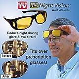 HD Vision(TM) Wraparounds Wrap Around Glasses