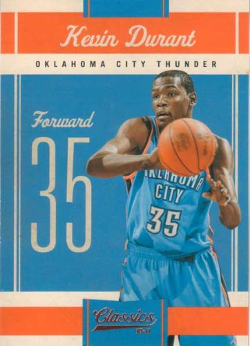 Kevin Durant 2010 / 2011 Panini Classics Series Mint Card #33 Picturing This Oklahoma City Thunder Superstar in His Blue OKC Jersey! Shipped in a Protective Screwdown Holder! at Amazon.com