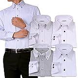 (アトリエサンロクゴ) atelier365 ワイシャツ 選べる6種類 5枚セット長袖 /at101-3L-45-85-AT101-Eset