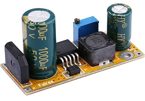 Yeeco Adjustable Voltage Converter Regulator, AC/ DC to DC Buck Power Converter, Step Down Car Power Supply Module, Voltage Regulator Transformer AC 2.7-27V/ DC 3-40V to DC 1.5-27V (Ac To Dc Converter Module compare prices)
