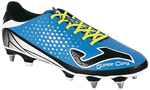 Joma Super Copa Speed - Scarpe da calcio da uomo, colore blu reale / nero.  Taglia 42