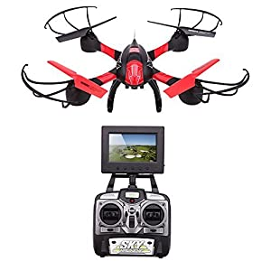 GoolRC SKY HAWKEYE 1315S 5.8G 4CH FPV RC Quadcopter with Real-time Transmission & 0.3MP HD Camera One Key to Return and CF Mode