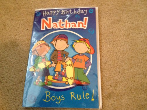 Happy Birthday Nathan - Singing Birthday Card