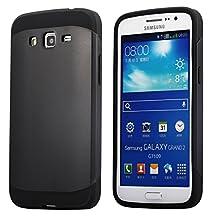 buy Anoke? Armor Sm-G7102 Sm-G7105 Sm-G7106 Armor Dual Layer Bumper Case Tpu Pc Hybrid Protective Case For Samsung Galaxy Grand 2,G7102 G7105 G7106 (Armor Black)