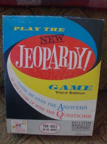 1964 Jeopardy 3rd Edition By Milton Bradley--the New Jeopardy Game - 1