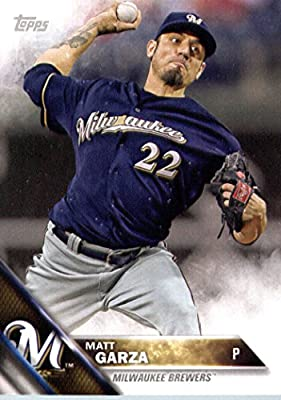 2016 Topps Team Edition #MB-8 Matt Garza Milwaukee Brewers Baseball Card