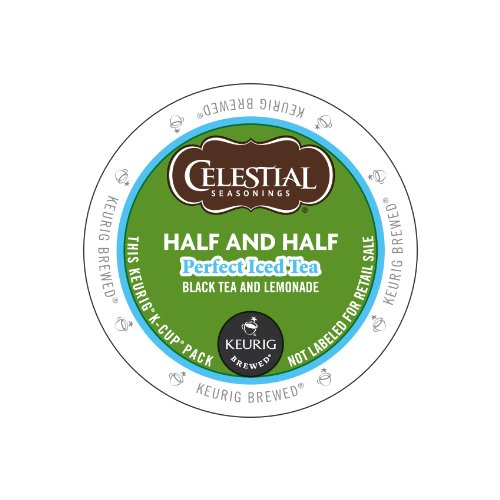 Keurig, Celestial Seasonings, Half And Half Perfect Iced Tea, K-Cup Packs, 72 Count