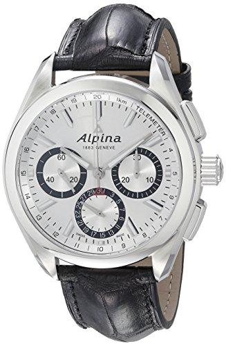Alpina-Mens-AL-760SB5AQ6-Alpiner-4-Manufacture-Analog-Display-Automatic-Self-Wind-Black-Watch