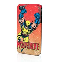 Marvel Vintage Heroes Edition Clip Case for iPhone 4 - Wolverine
