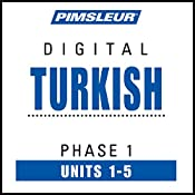 Turkish Phase 1, Unit 01-05: Learn to Speak and Understand Turkish with Pimsleur Language Programs |  Pimsleur